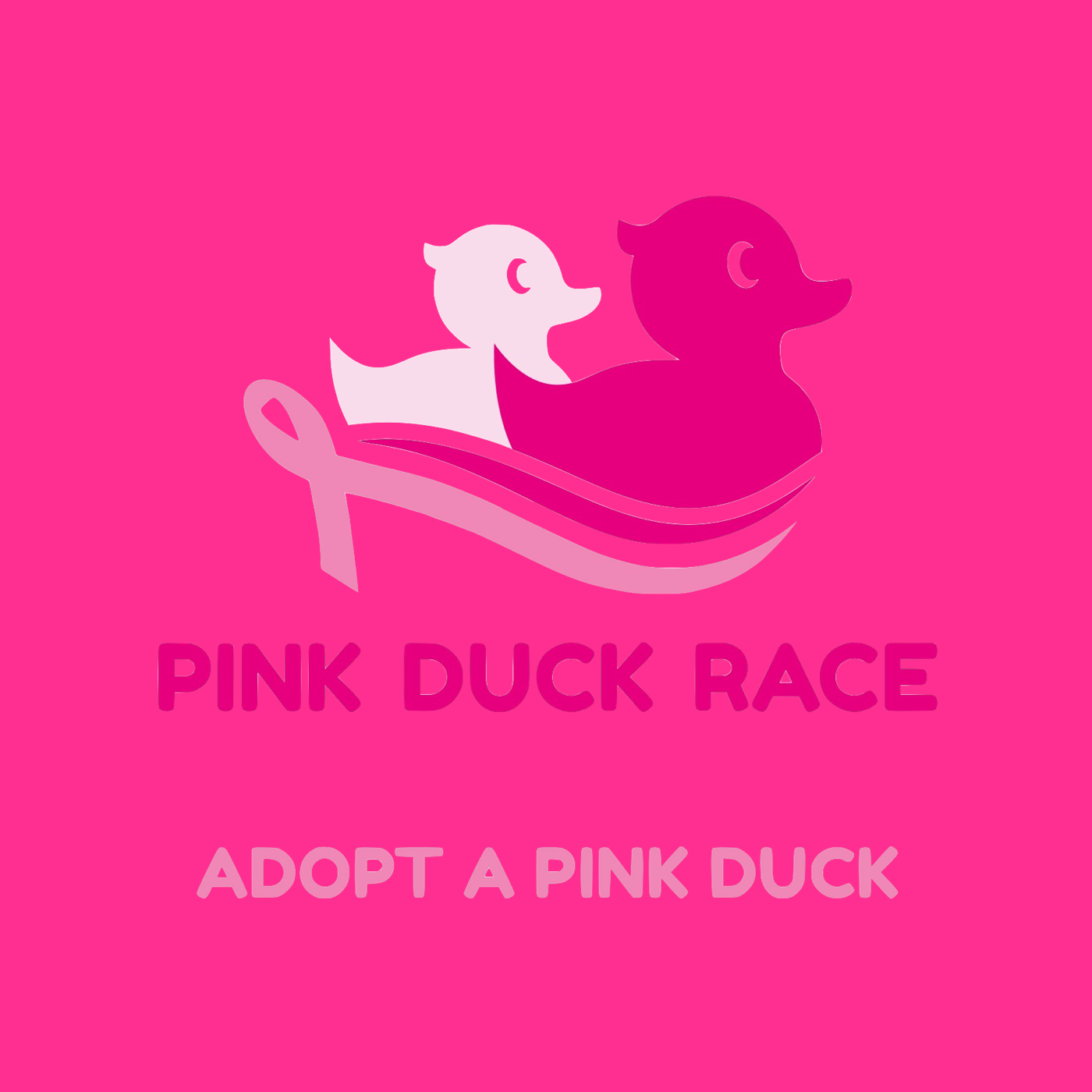 Think Pink Duck Race